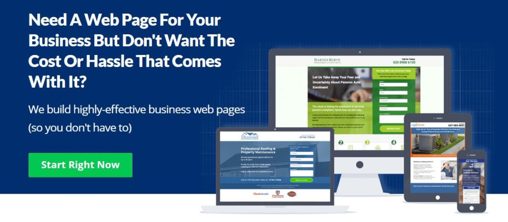 Adzooma review web pages