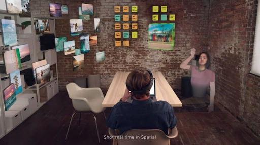 WFH 101: AR Smart Glasses Can Simulate Office Experience