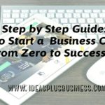A Step by Step Guide: How to Start a Business Online from Zero to Success