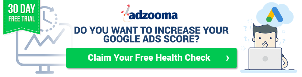 Adzooma Pro - HealthCheck Tool